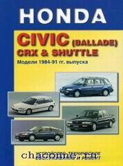 Руководство Honda Civic(ballade) с 84-91 г.