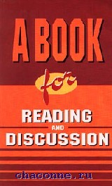 A book for reading and discussion