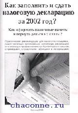 Как заполнить и сдать налоговую декларацию за 2002