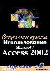 Использование Access 2002