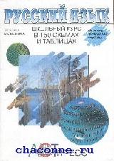 Русский язык. Школьный курс в 150 схемах и таблицах