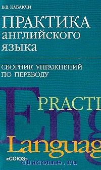 Практика английского языка. Сборник упражнений по переводу