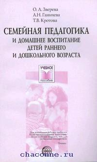 Семейная педагогика и домашнее воспитание детей раннего дошкольного возраста