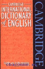 Cambridge Inter.Dict.of English PB