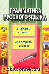 Грамматика русского языка в таблицах и схемах для старшеклассников