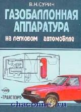 Газобаллонная аппаратура на легковом автомобиле