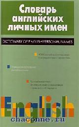 Словарь английского личных имен