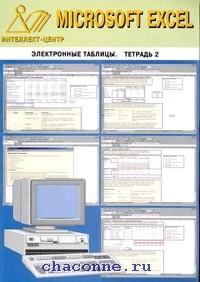 Электронные таблицы Excel. Тетрадь 2я