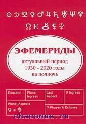 Эфемериды. Актуальный период 1935-2025