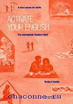 Activate your English Pre-Int TB
