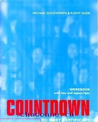 Countdown To F Certificate  WB w/key +Cass