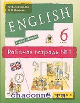 Новый курс английского языка 6 кл. Рабочая тетрадь в 2х частях