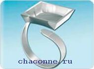 Аксессуар для украшений кольцо c квадратной формой 8625 03.