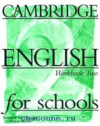 Cambridge English for schools 2 WB