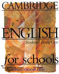 Cambridge English for schools 1 SB