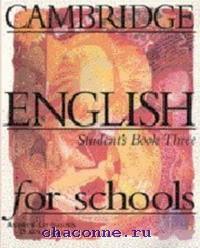 Cambridge English for schools 3 SB