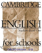 Cambridge English for schools 1 TB