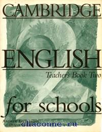 Cambridge English for schools 2 TB