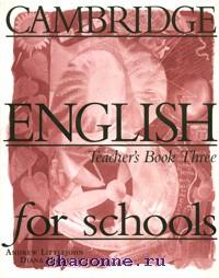 Cambridge English for schools 3 TB