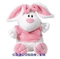 Кролик белый сидячий 56 см