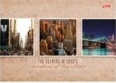 Альбом для рисования 40л Windows of the cities на спирали перфорация на отрыв 187048