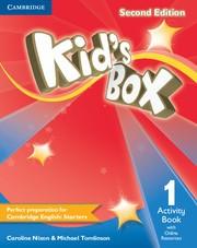 Kids box 1 AB + Online Res