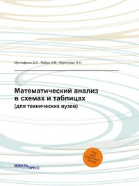 Математический анализ в схемах и таблицах (для технических вузов)