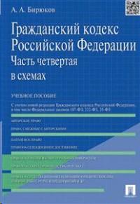 Гражданский кодекс РФ в схемах 4я часть