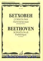 Соната №8. Патетическая для фортепиано