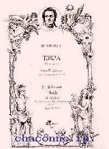 Тэкла для голоса и фортепиано